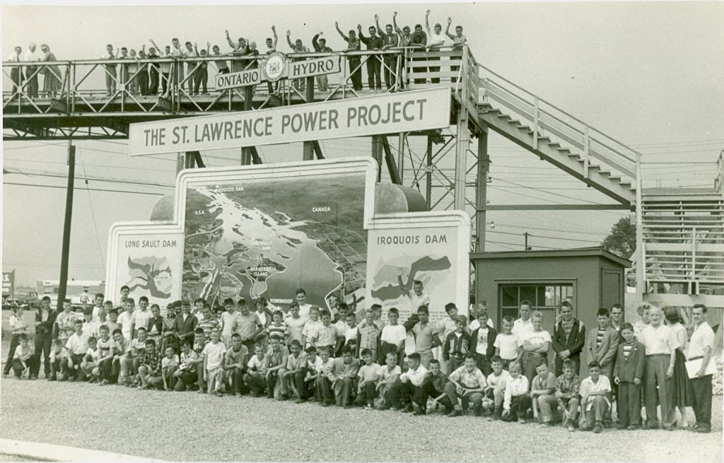 Historic photo: St. Lawrence Seaway and Power Project
