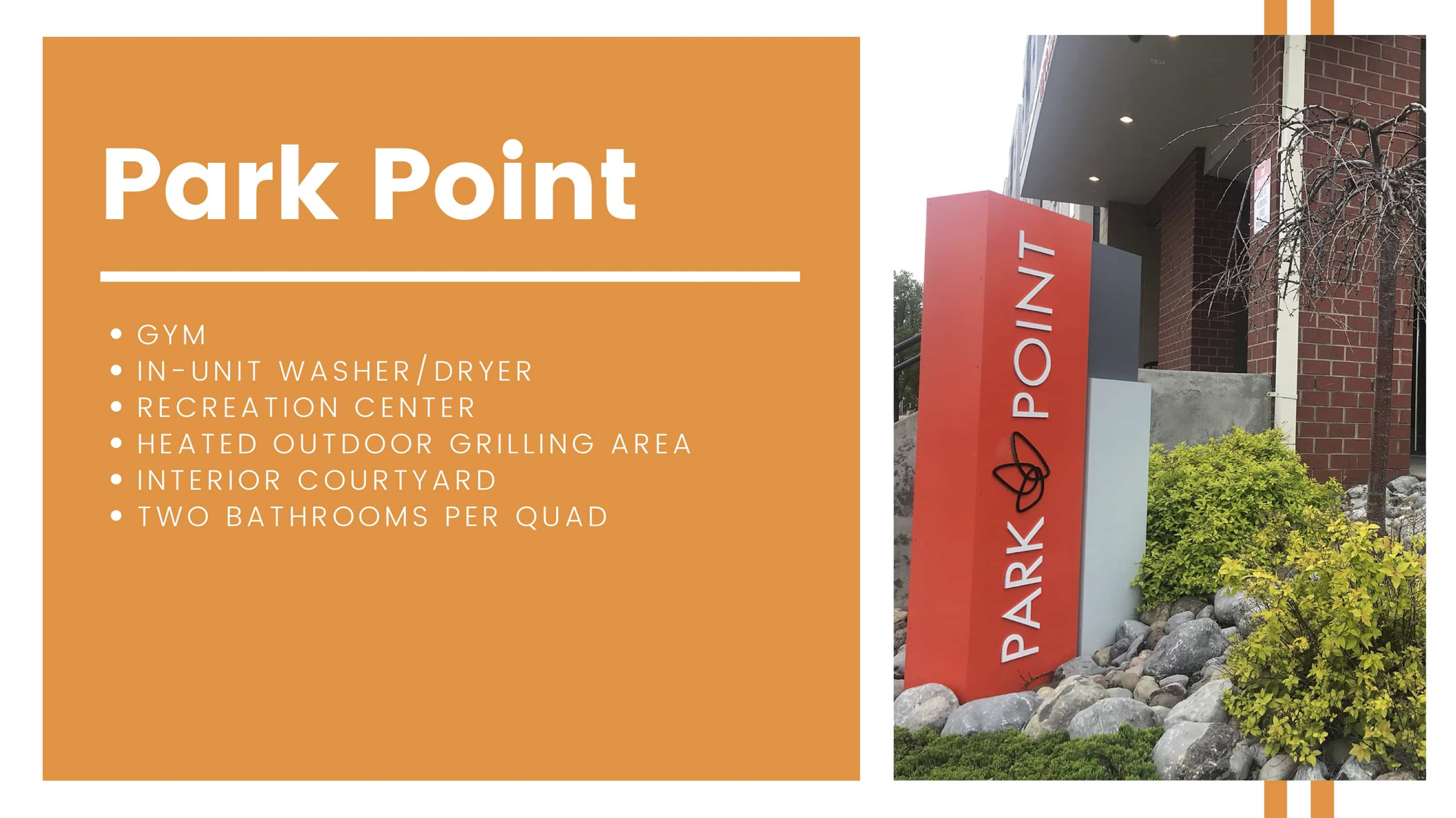 Park Point Amenities Breakdown