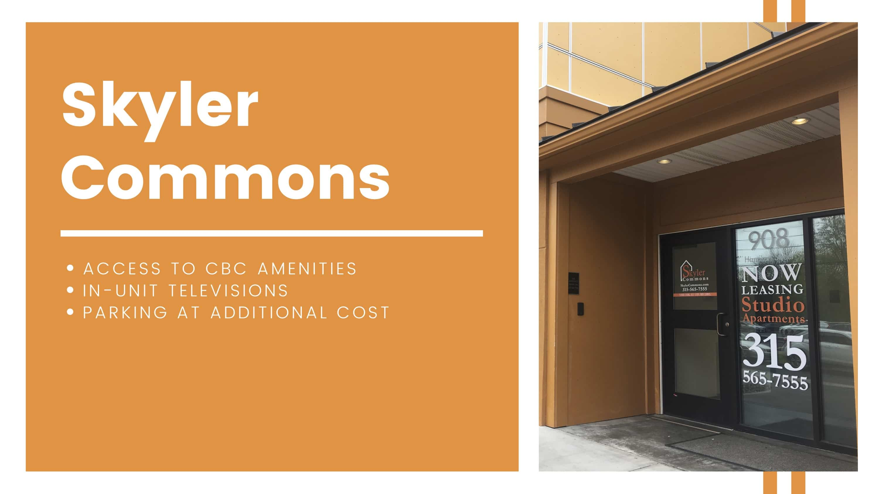 Skyler Commons amenities