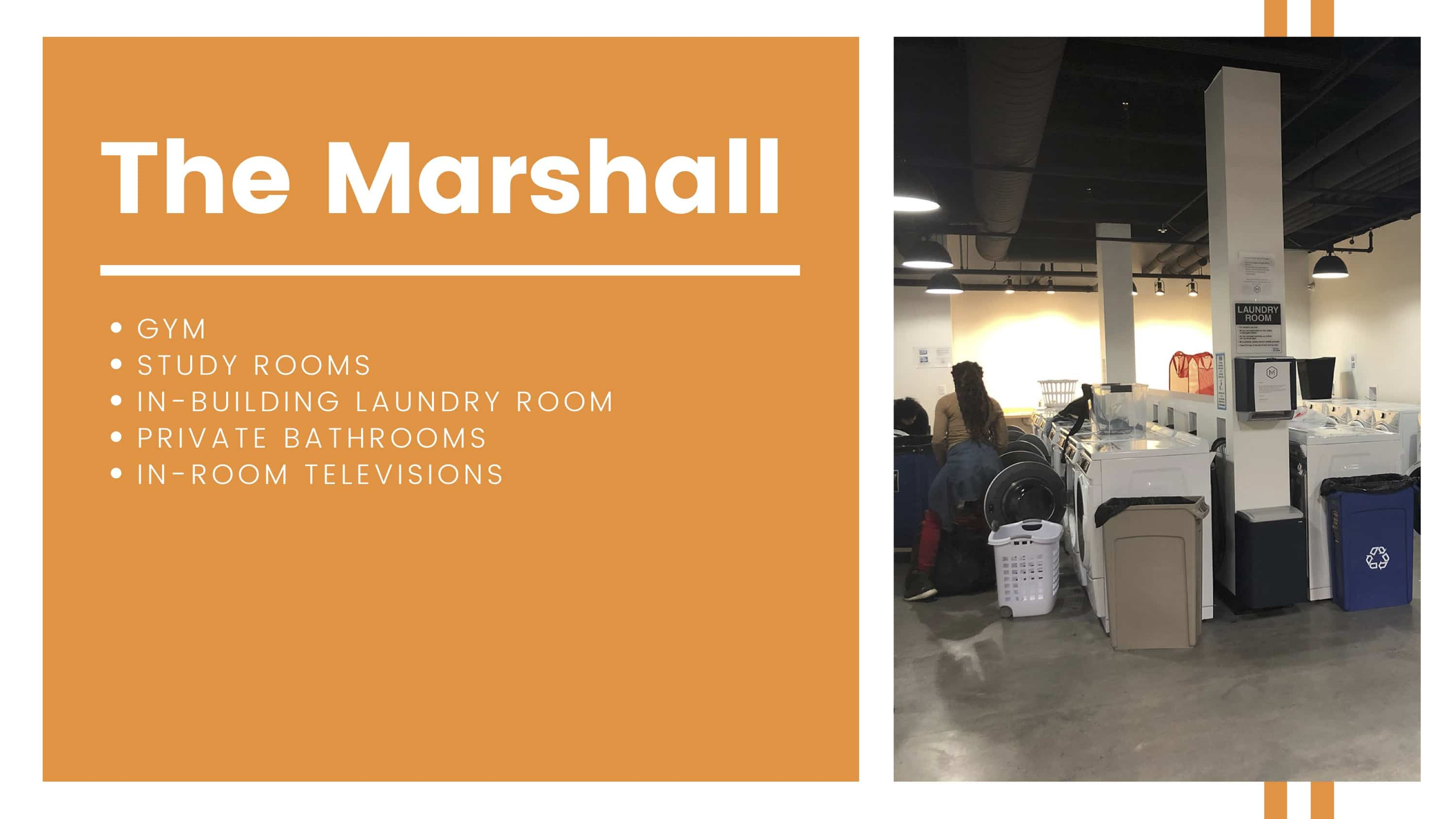 The Marshall Amenities Breakdown