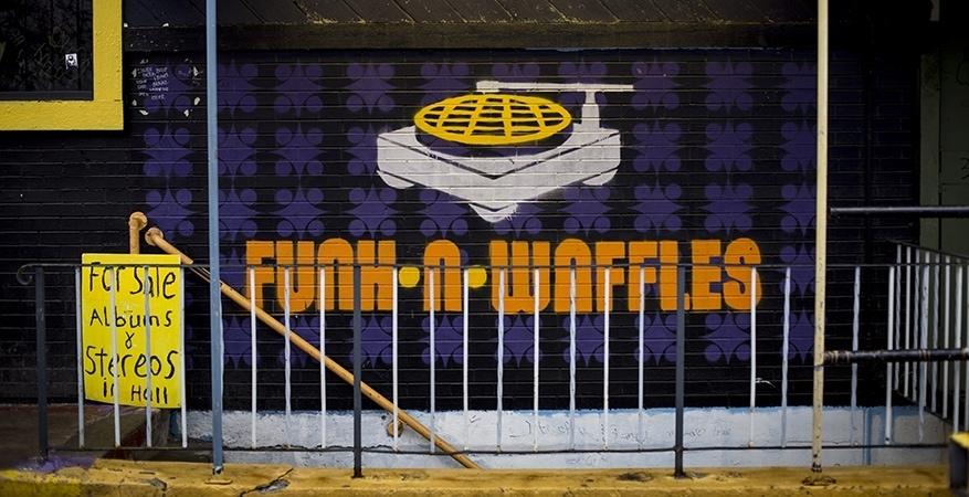 Funk N' Waffles Before Teardown