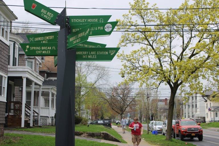 University Neighborhood Signage