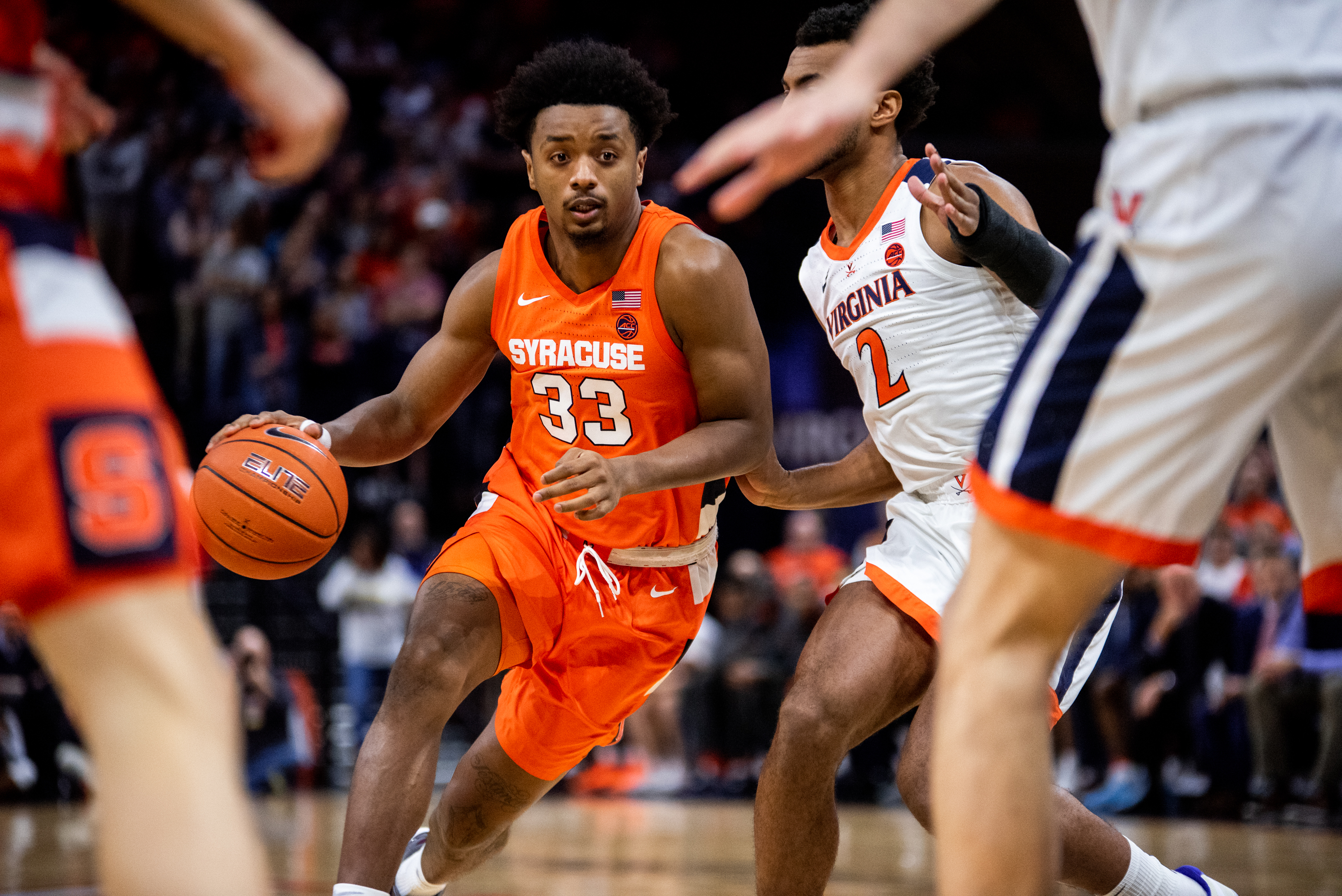 Syracuse University vs. University of Virginia