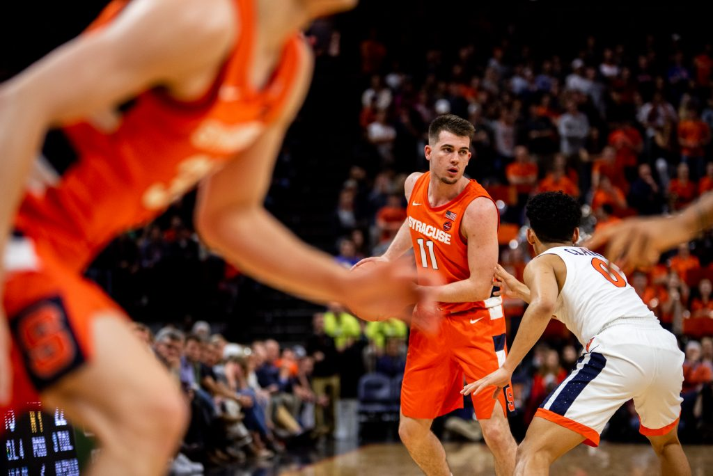 Syracuse University vs. University of Virginia