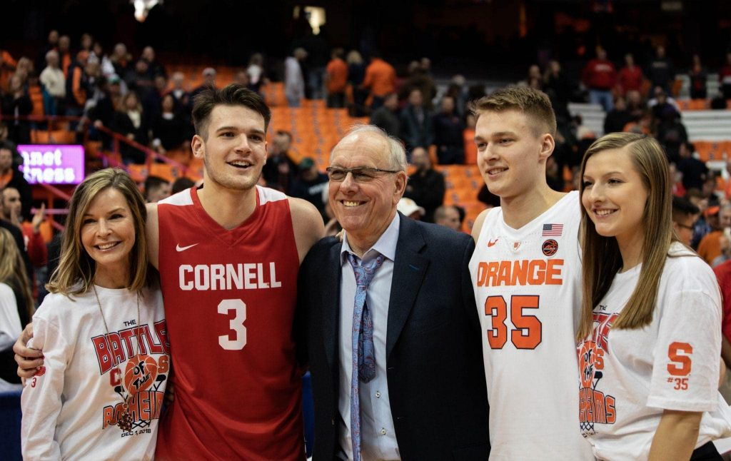 SU vs Cornell Basketball