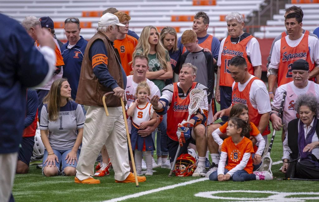 SU Mens LAX: Alumni Game in Carrier Dome on Oct. 6, 2018
