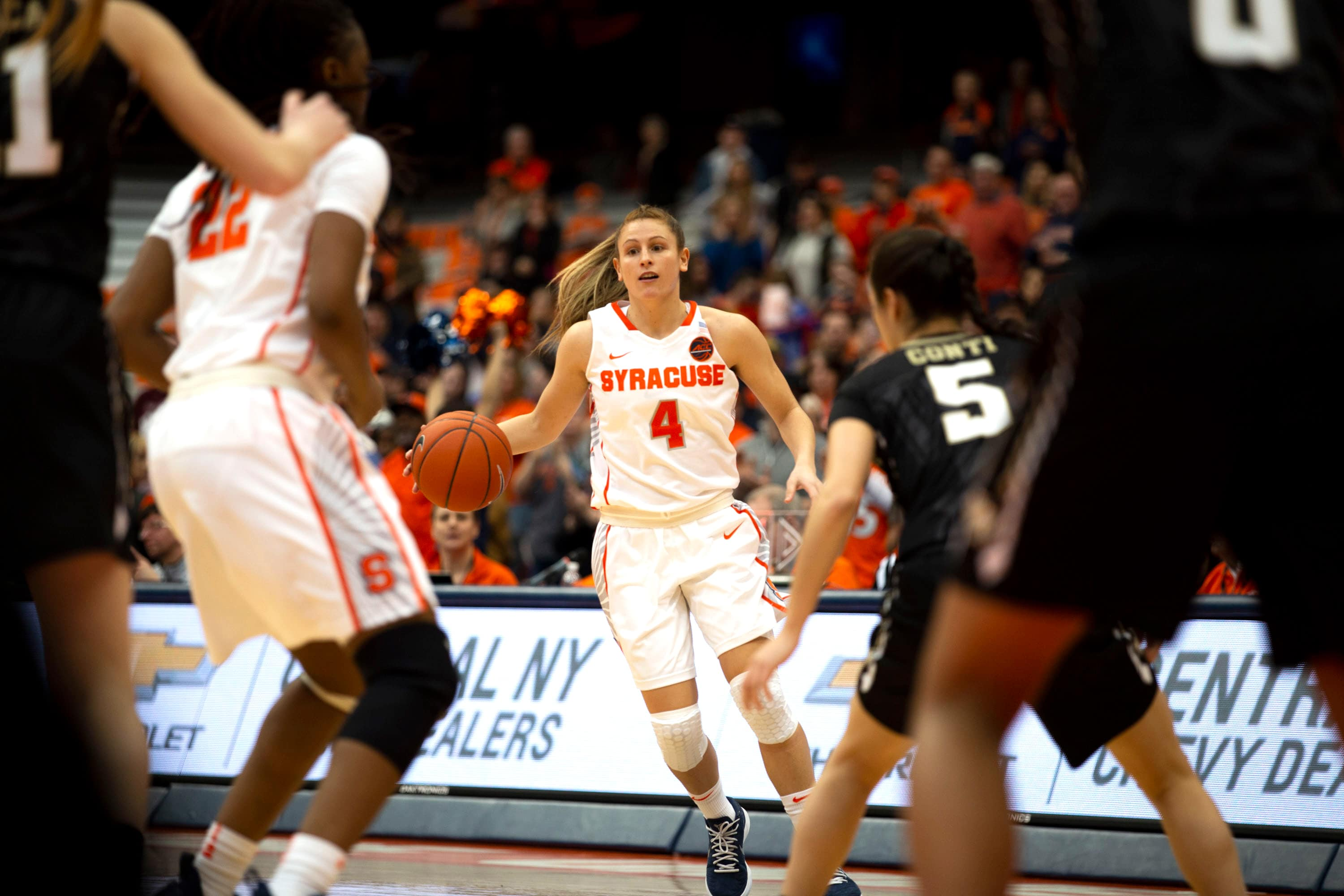 SU Women's Basketball v Wake Forest