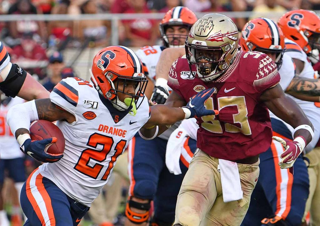 Neal Moe Run - Syracuse vs. Florida State - Oct. 26, 2019