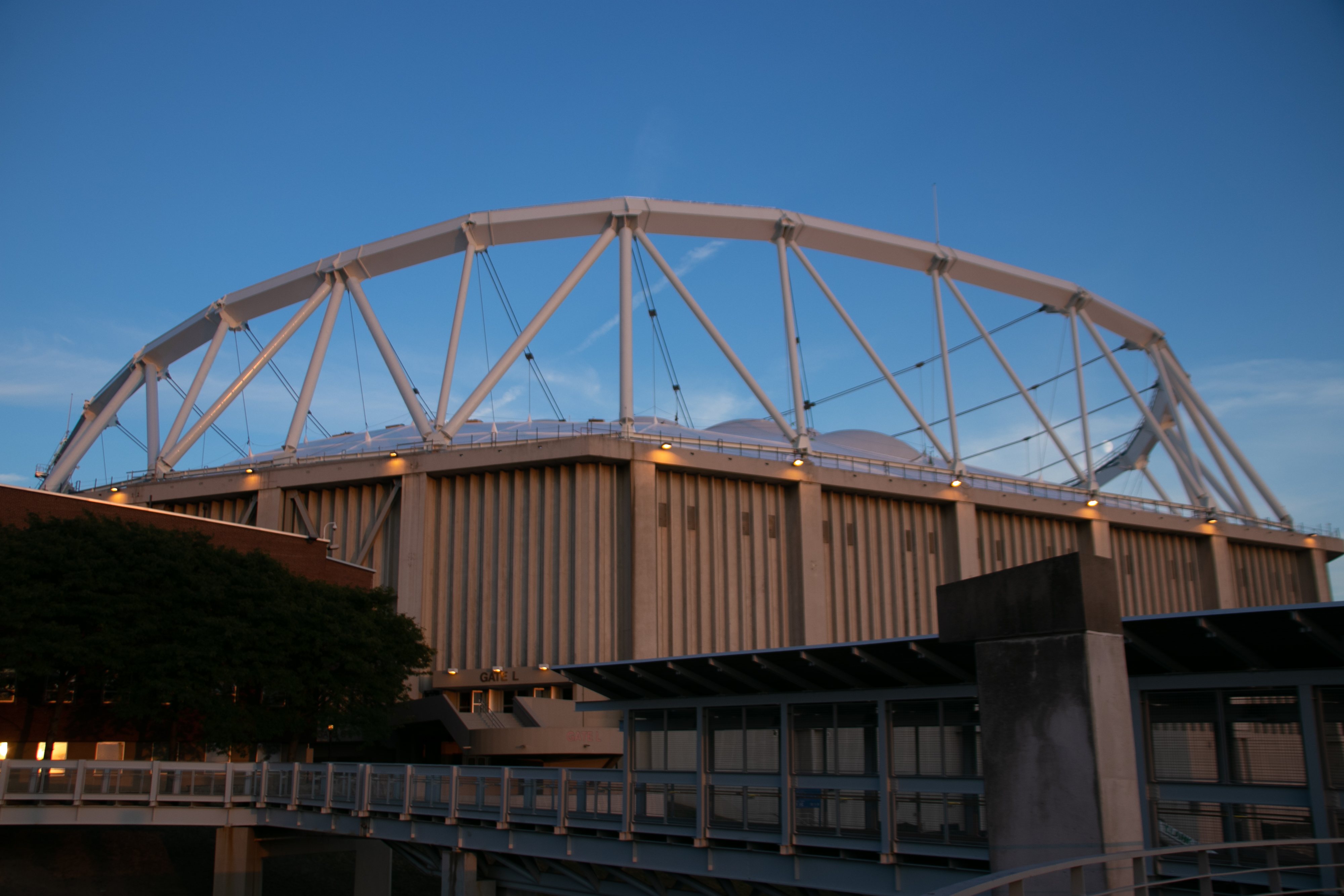 Syracuse University's former Carrier Dome, currently known as the Stadium.
