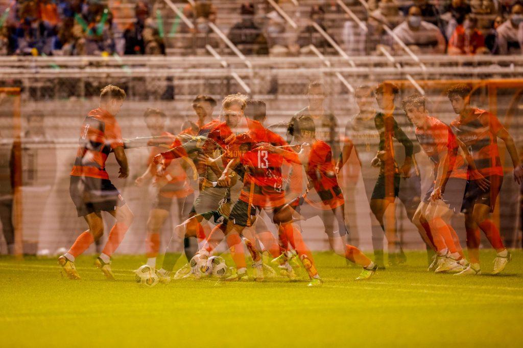Syracuse University Men's Soccer game vs UVM.