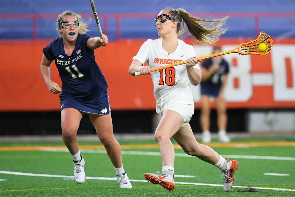 NCAA Womens Lacrosse: Notre Dame at Syracuse