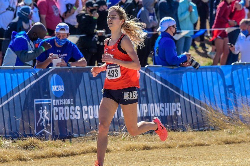 Amanda Vestri at the 2021 NCAA Cross Country Championships.