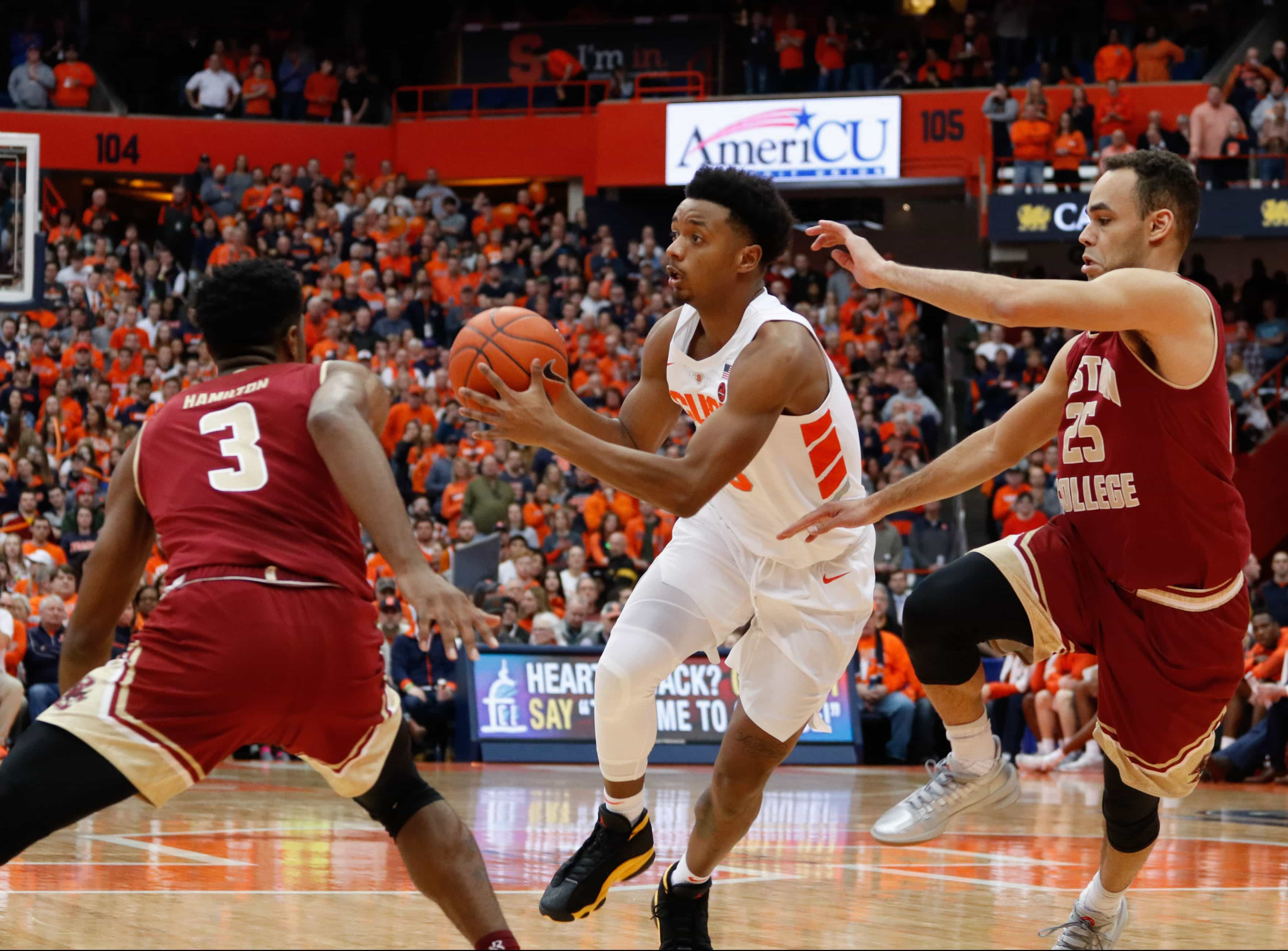 Syracuse vs Boston College Basketball
