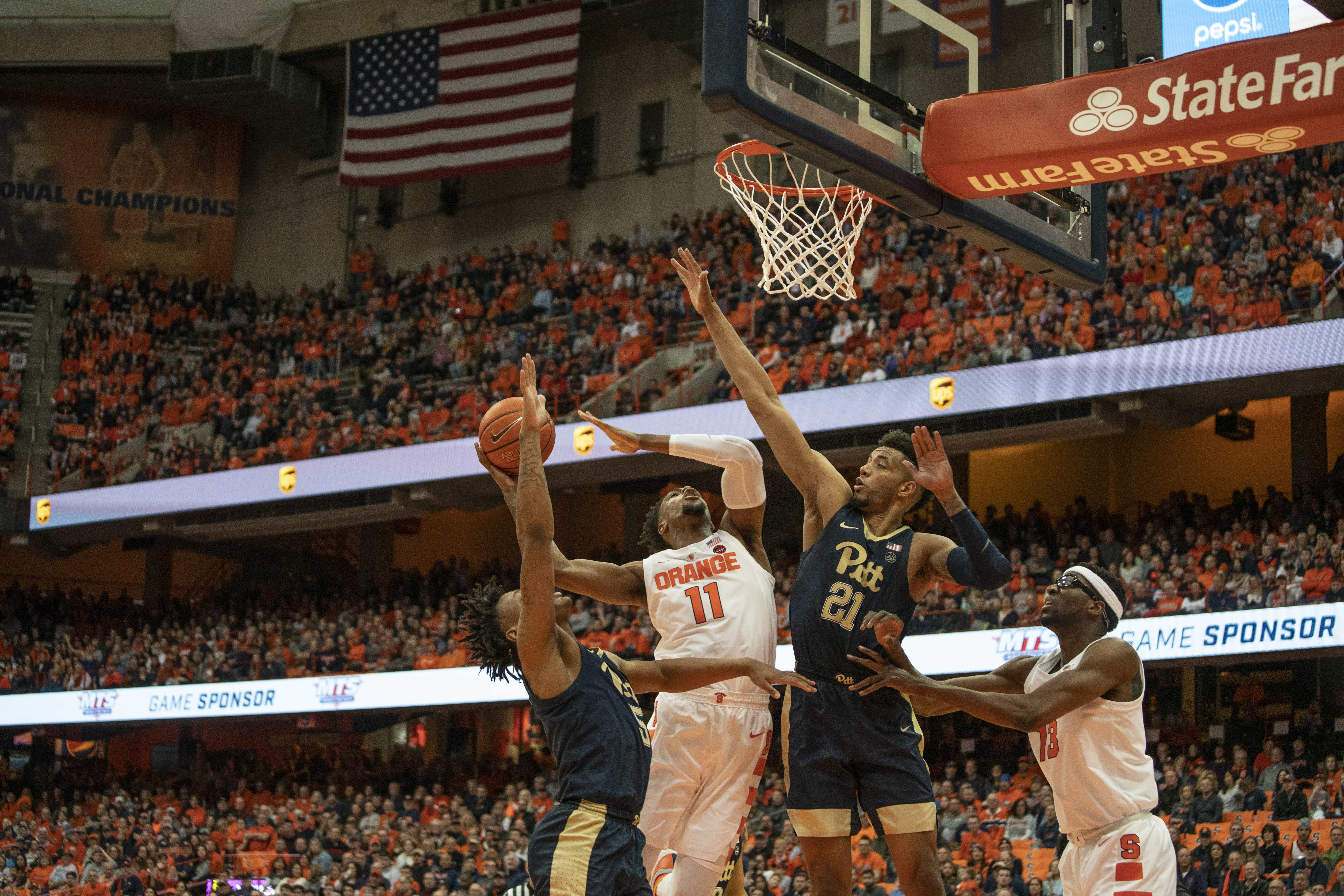 SU vs Pitt men's basketball.