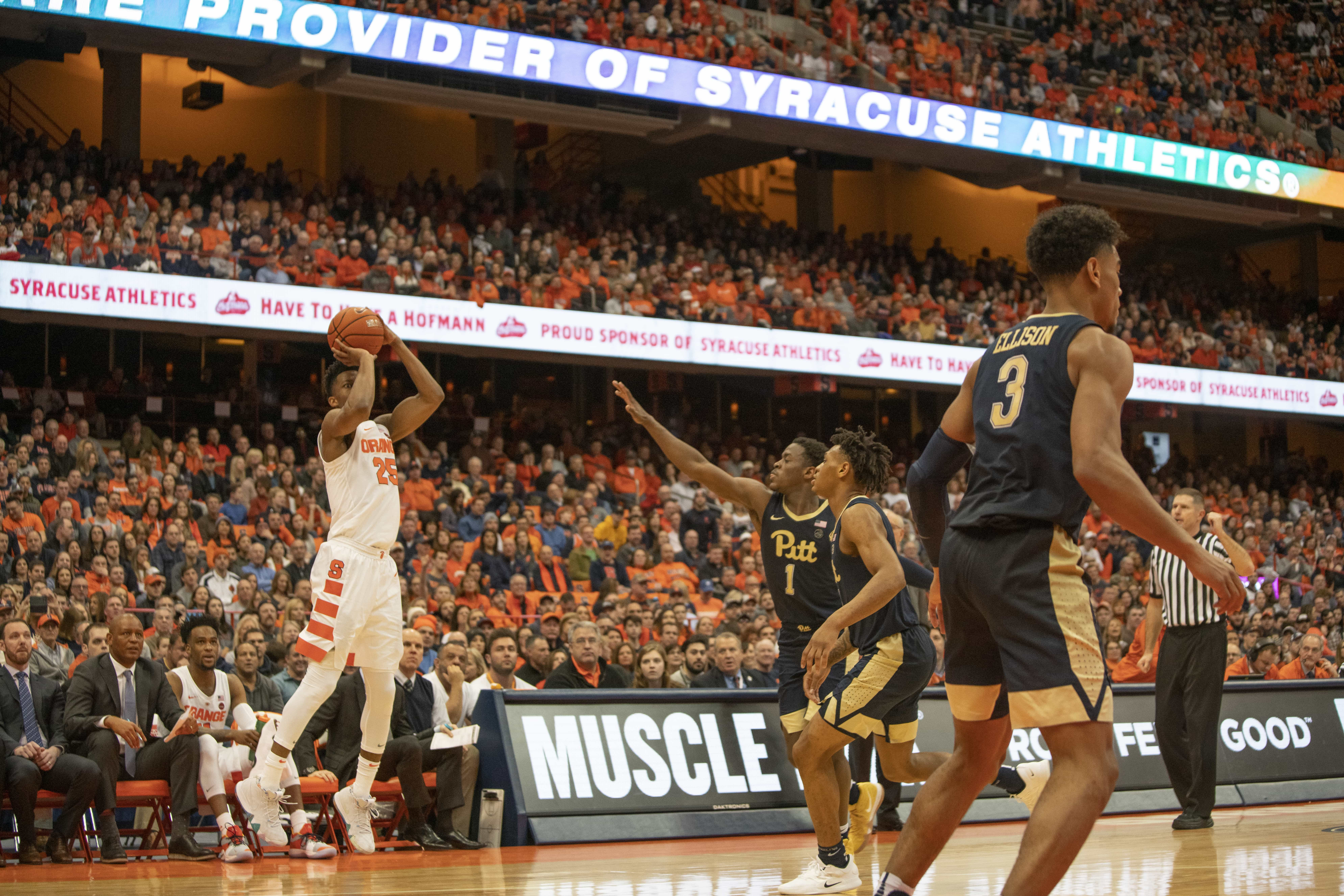 SU vs Pitt Basketball
