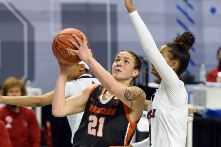 Syracuse Louisville ACC Women's Tournament