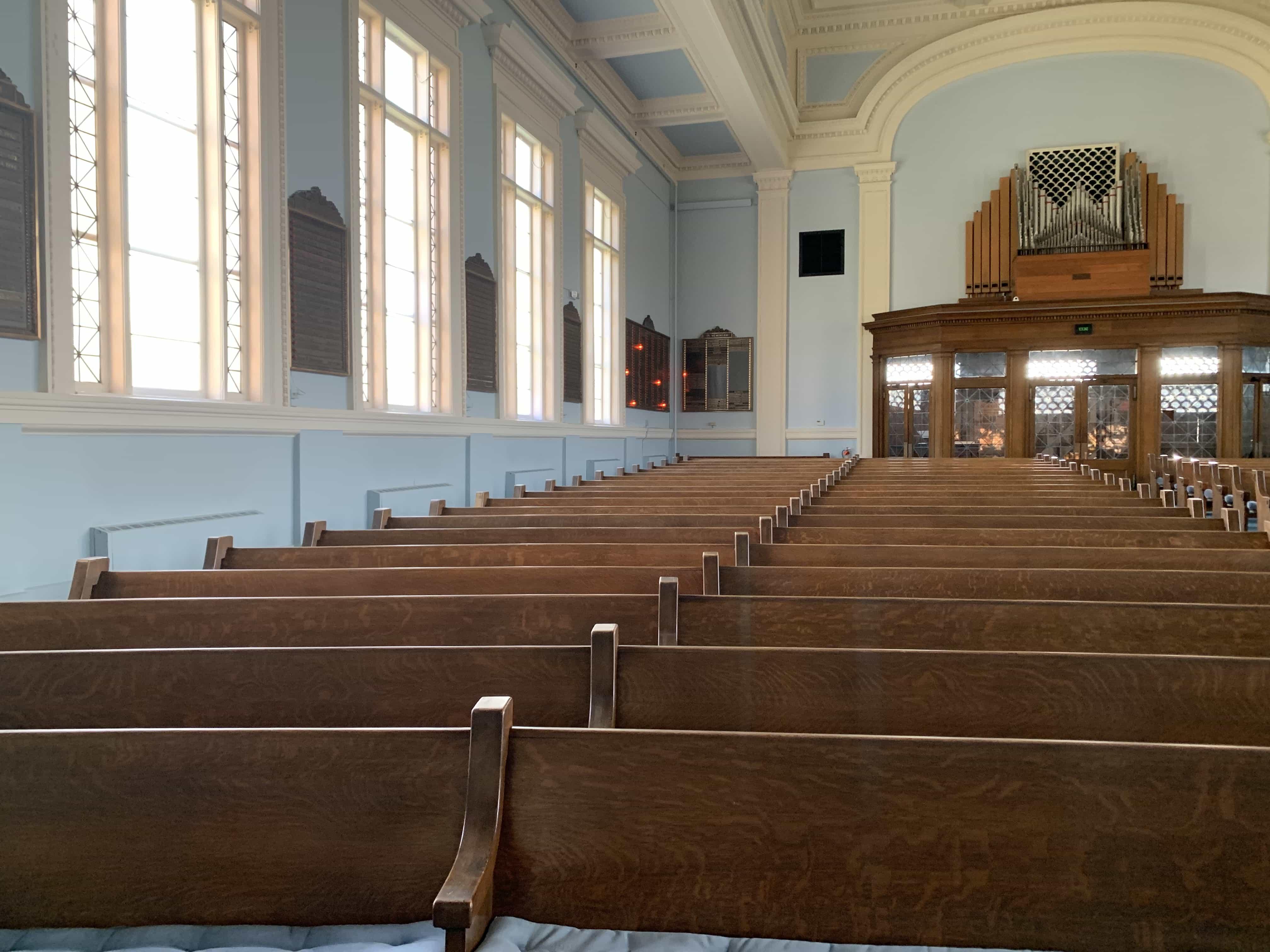 Temple Concord interior