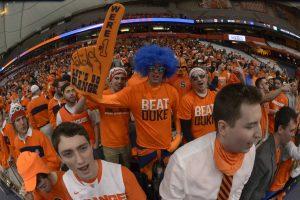 SU-Duke 2014: Otto's Army fans