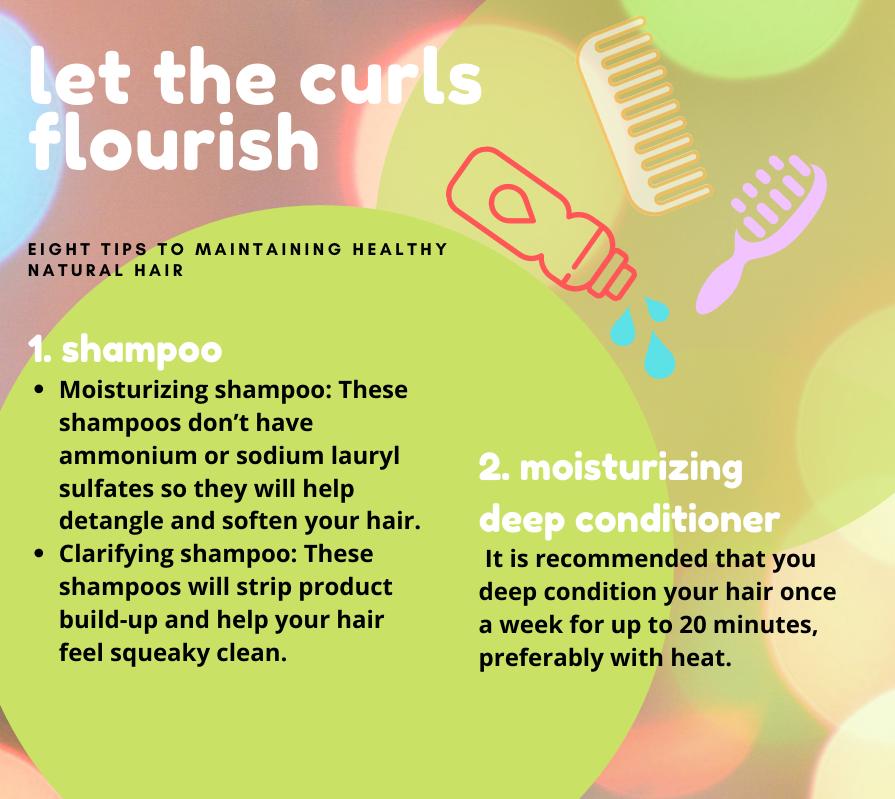 Let the curls flourish