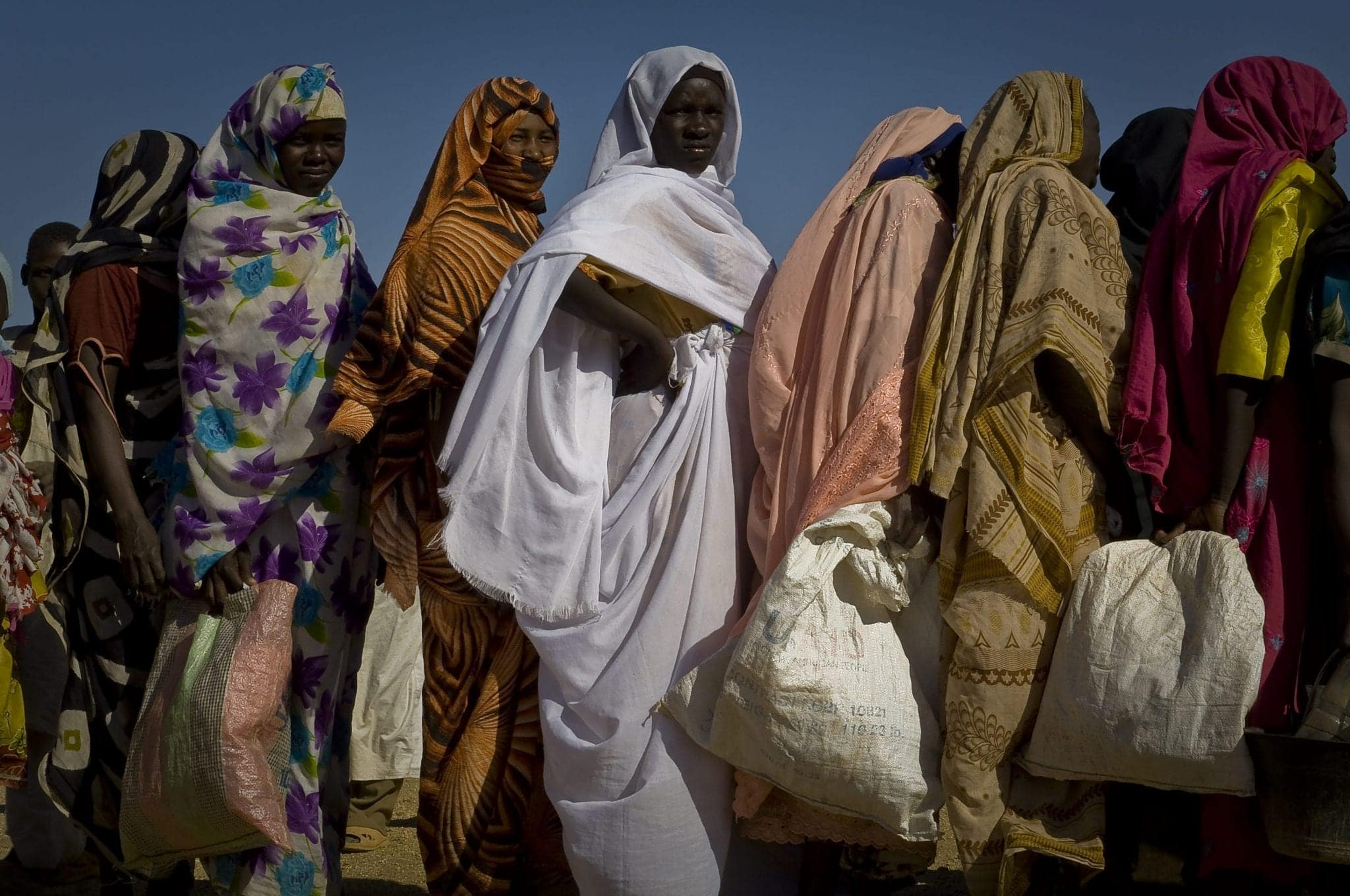 Darfurians refugees in Eastern Chad
