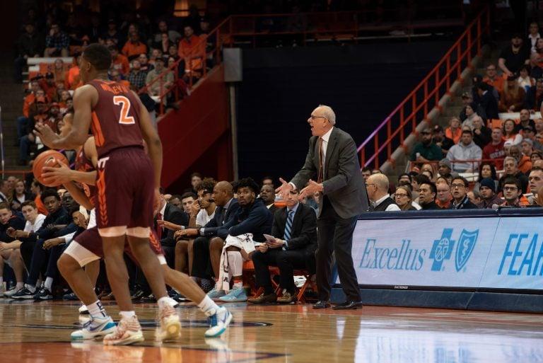 Orange fall short of win against Virginia Tech