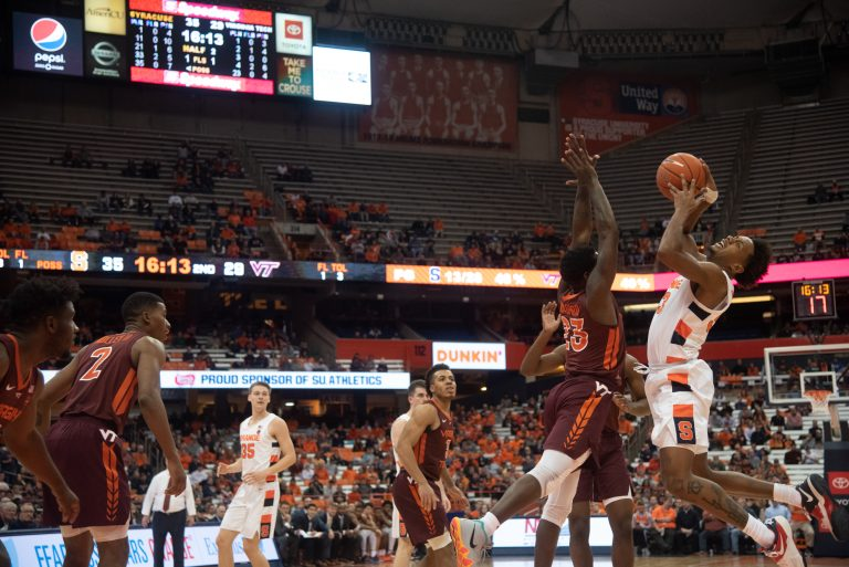 Orange fall short of win against Virginia Tech
