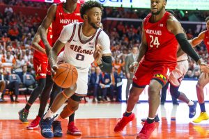 Former Illinois wing Alan Griffin announced his plans to transfer to Syracuse