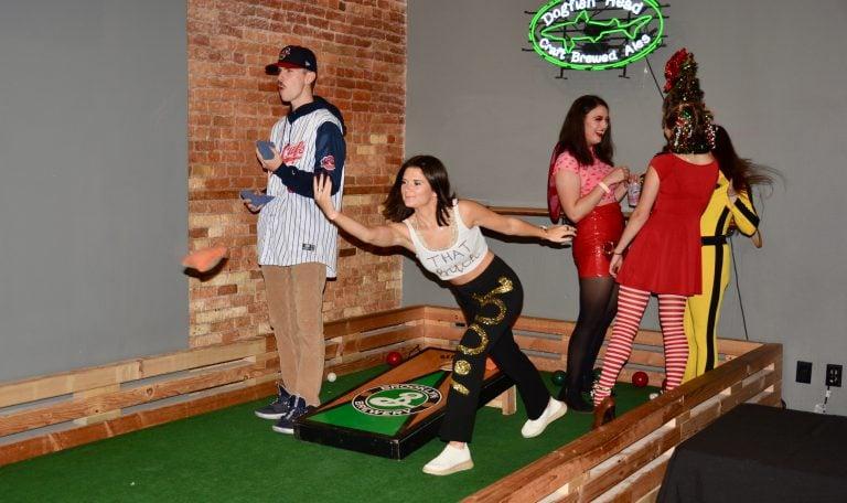 Syracuse Halloween Bar Crawl: Cornhole at The Hops Spot