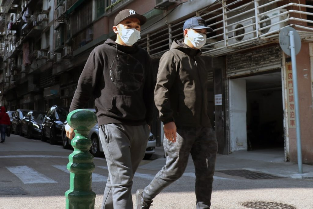 Face masks have become universally adopted by those in Asia to protect from infection from the fatal coronavirus.