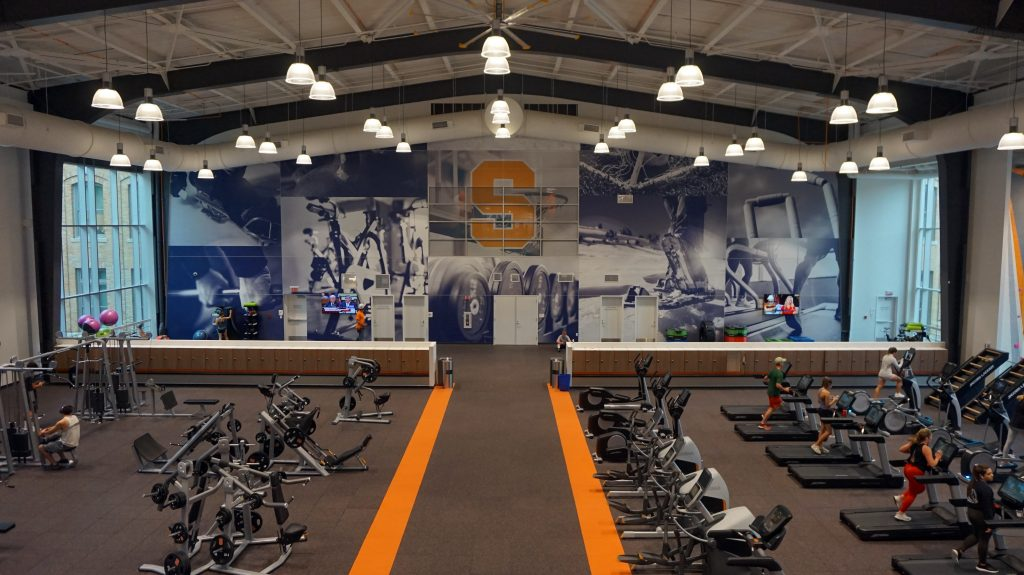 KG Tan Fitness Facility with exercise equipment