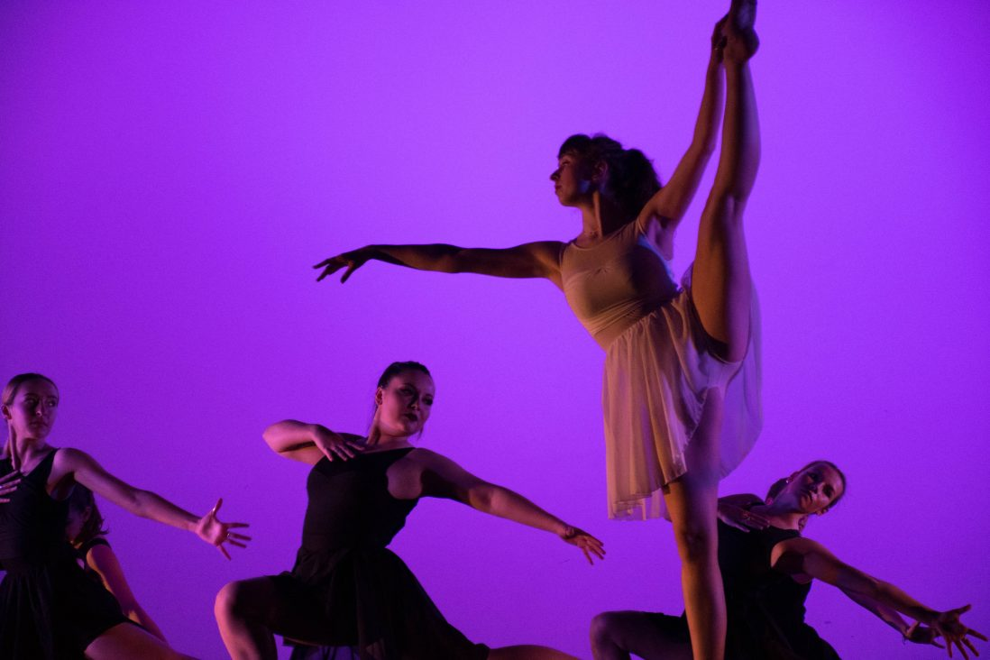 Student Chandler Plante choreographed this dance titled,