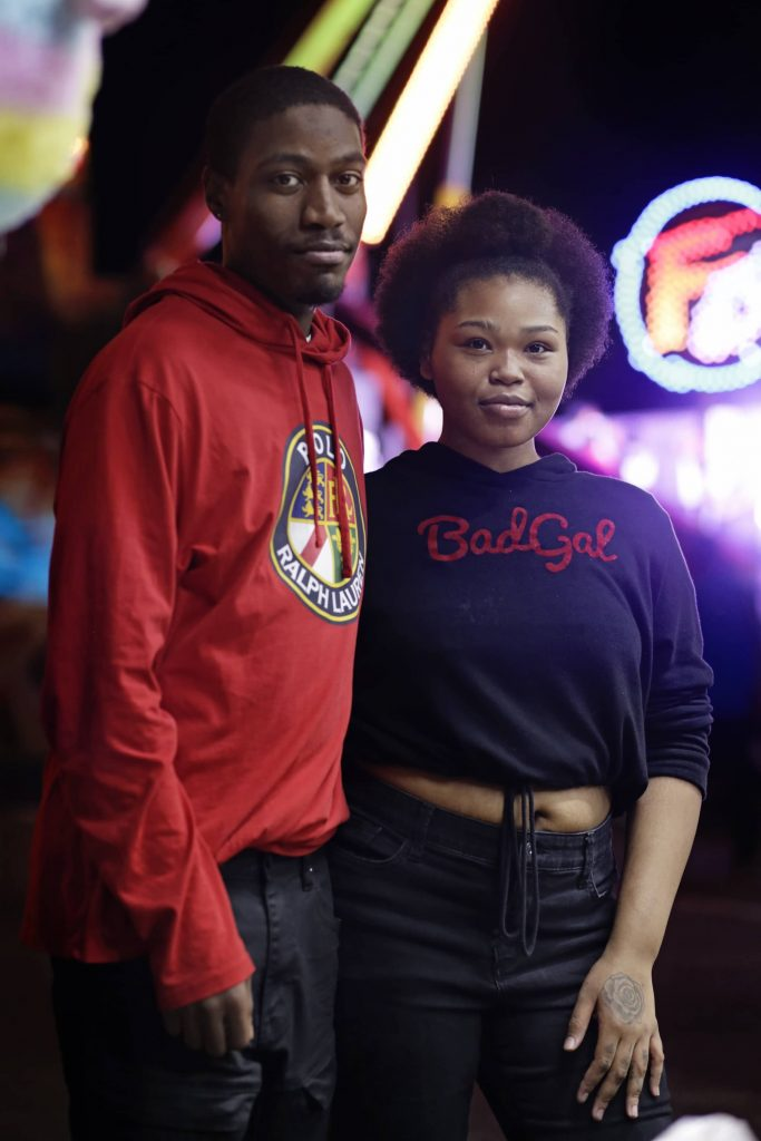 Karlaya Braxton, 22, of Syracuse Portrait of Malik Wright, 22, and Karlaya Braxton, 22, both of Syracuse at the New York State Fair on Sept. 2, 2019.
