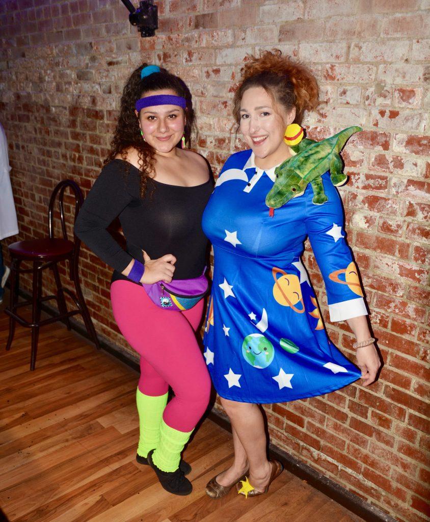 Syracuse Halloween Bar Crawl: Fitness Instructor and Interplanet Janet