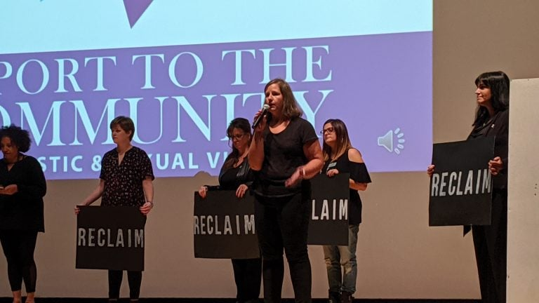 Vera House started off Domestic Violence Awareness Month at the Everson Museum on Oct. 2, 2019