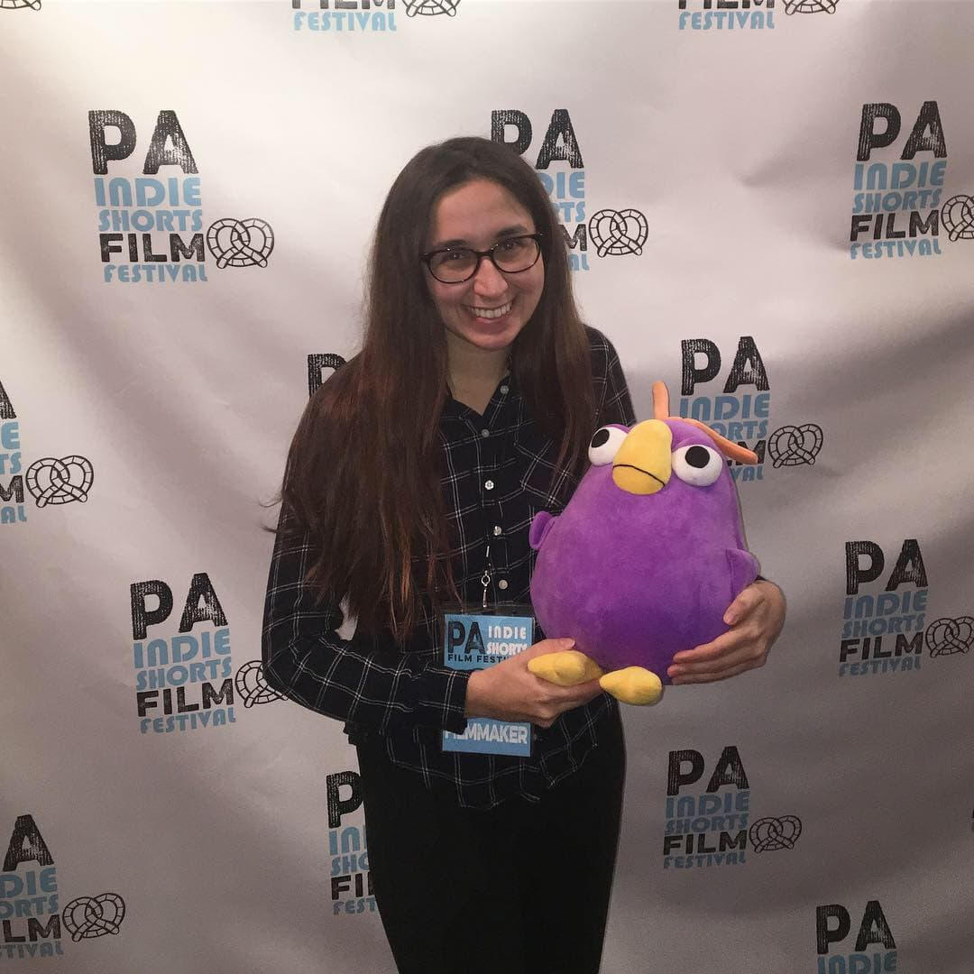 Justina Hnatowicz at the PA Indie Film Festival