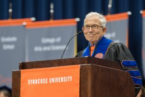 Commencement 2016 Ceremony Donald E. Newhouse Commencement Speaker