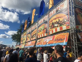 Santillo's stand at the 2019 New York State Fair
