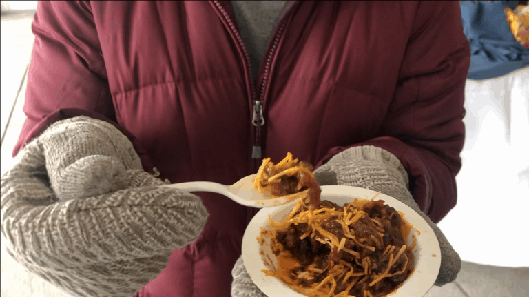 Winter Carnival chili cook-off