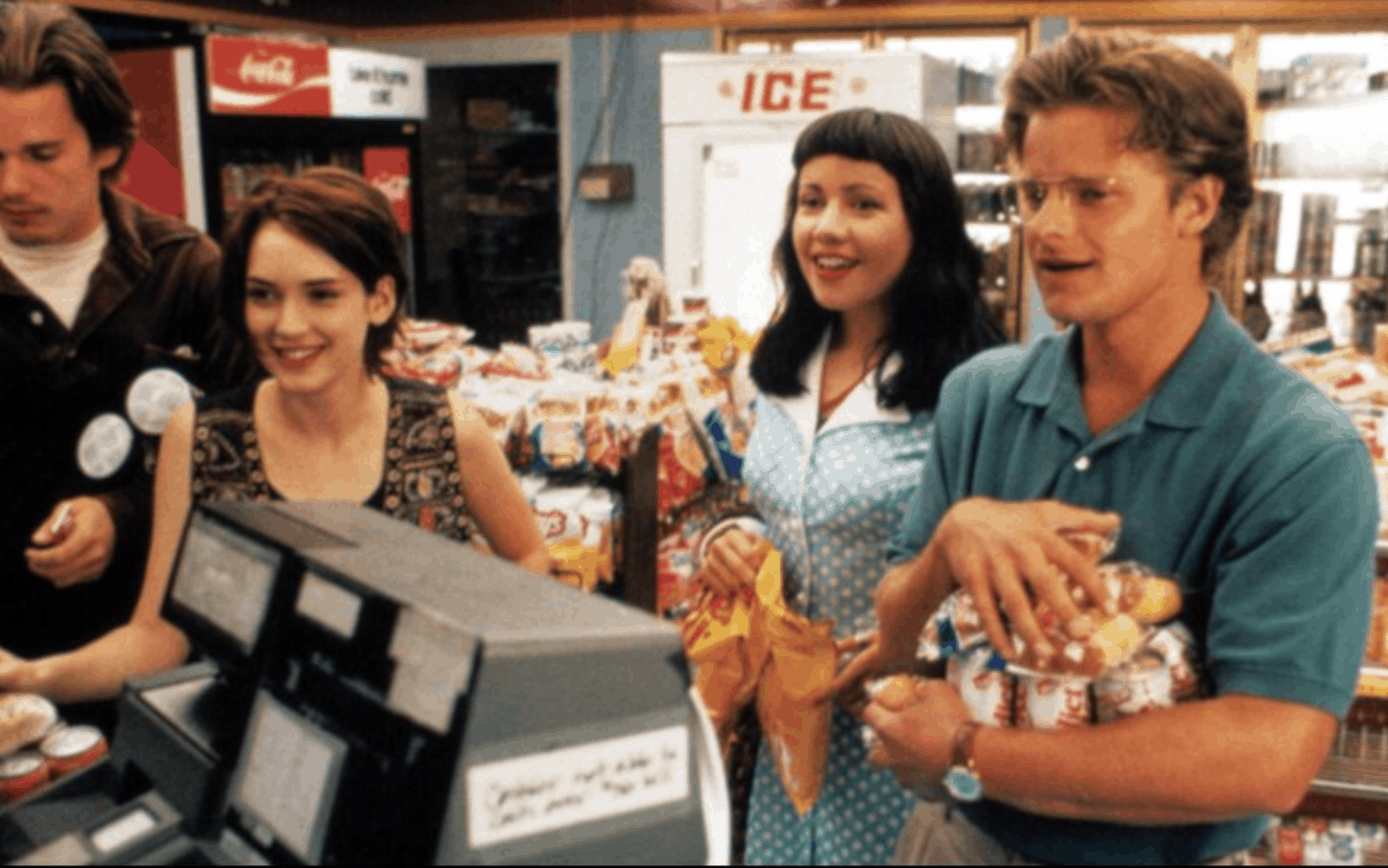 Reality Bites movie scene