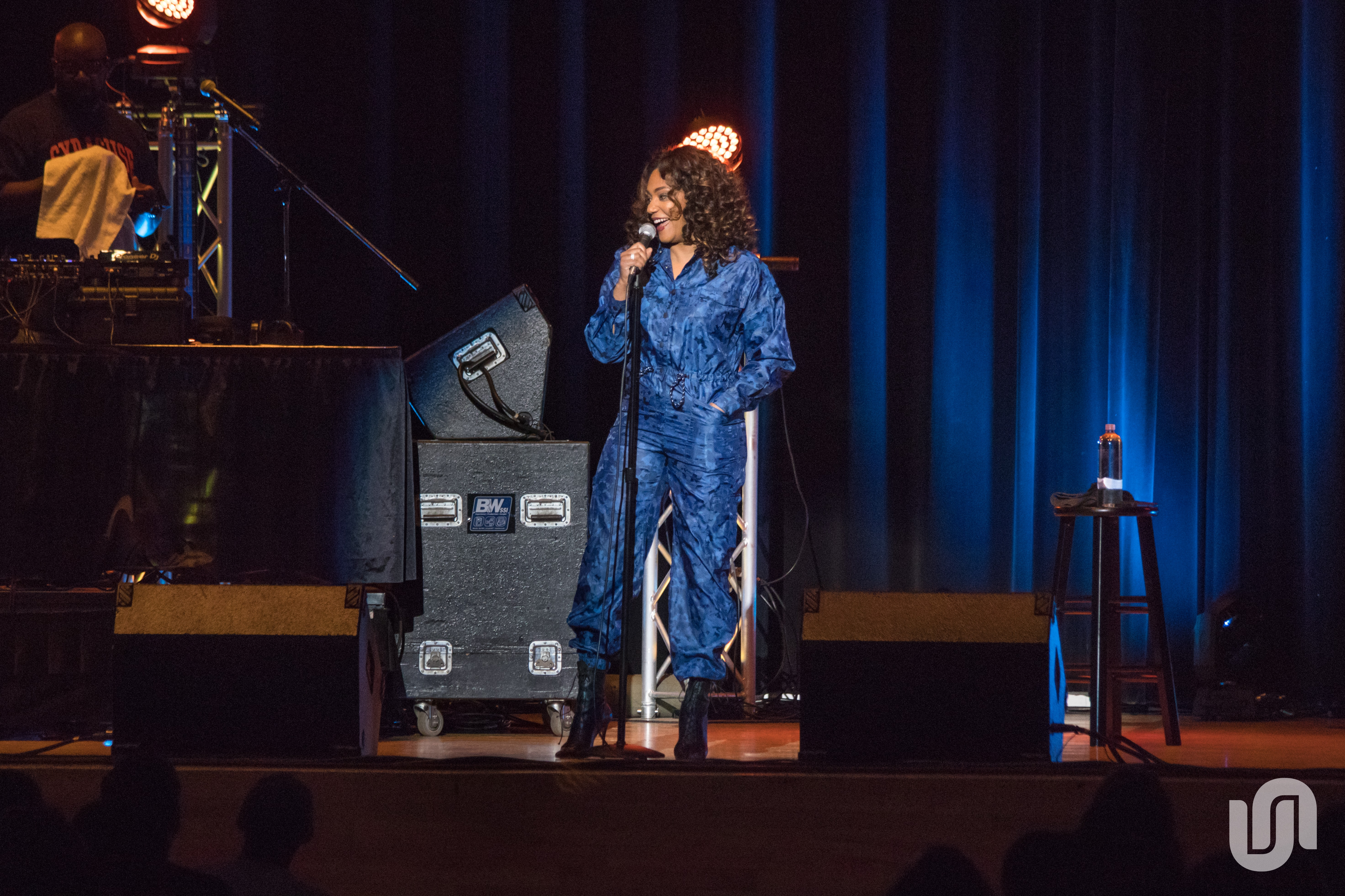 Comedian Tiffany Haddish brought her comedic honesty to Syracuse University's Goldstein Auditorium on Saturday.