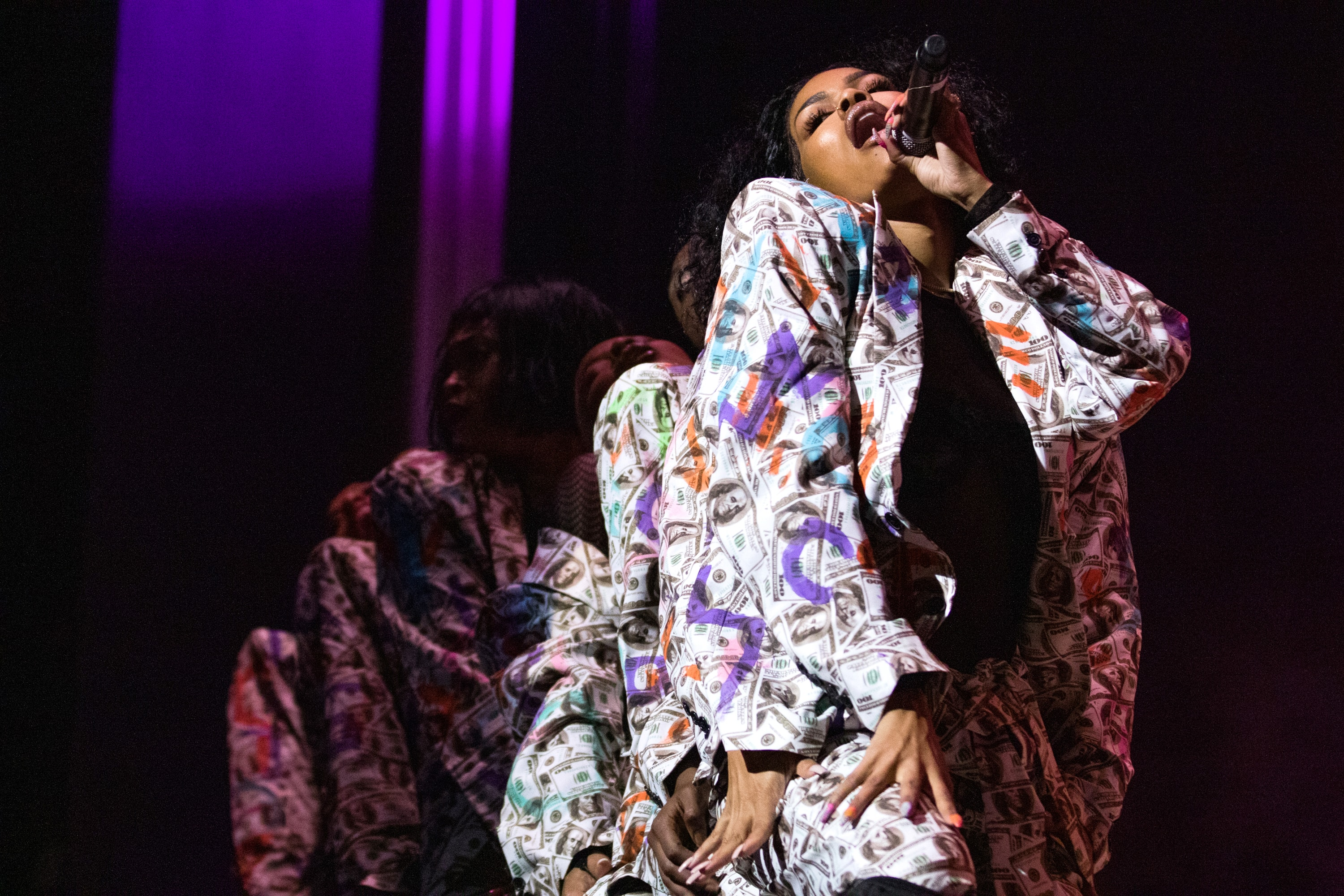 Teyana Taylor performs during Live Nation's