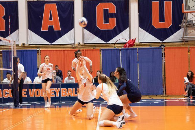 Syracuse vs. Boston College volleyball on Oct. 31, 2018