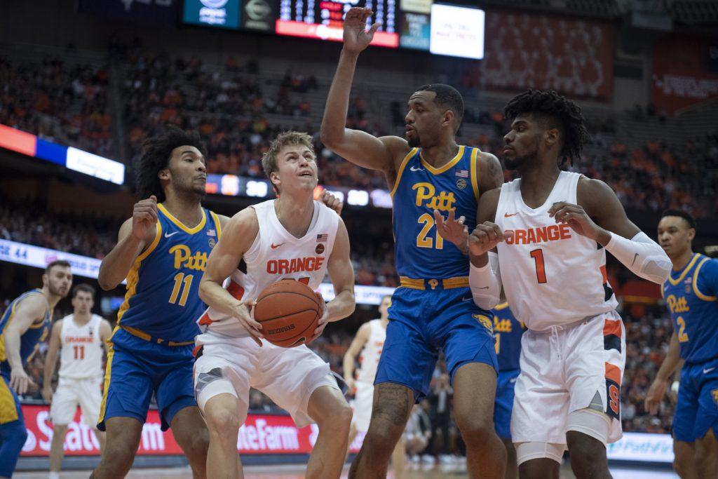 SU Mens Basketball vs Pitt