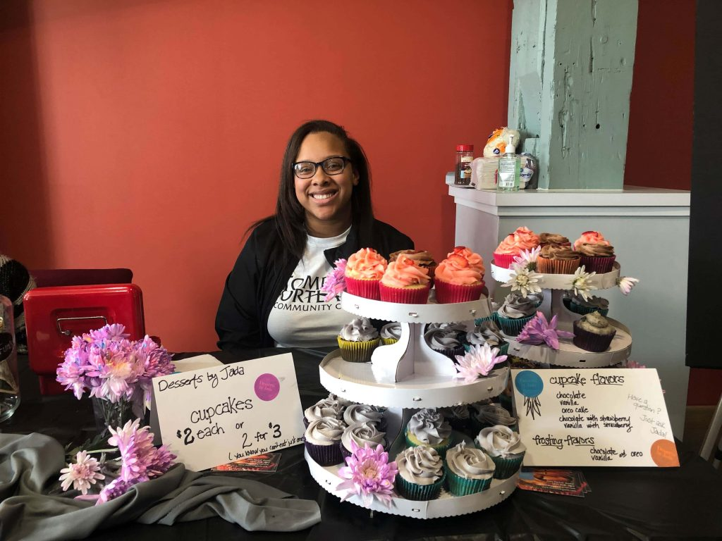 Desserts by Jada at the SALTspace community arts center that opened in April 2019 on Syracuse's Westside.
