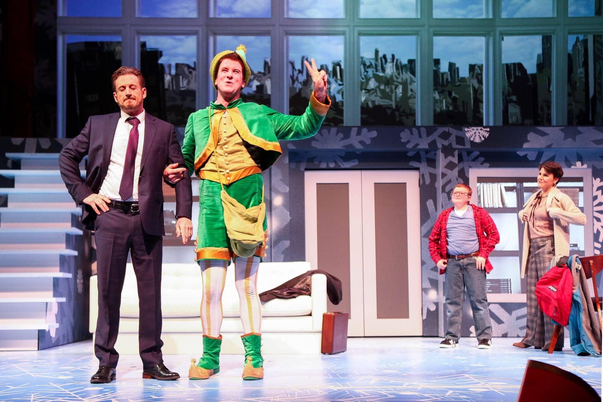 Elf on stage