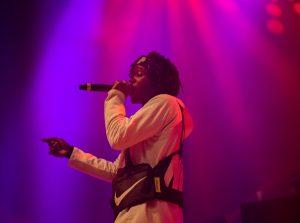 J.I.D live in concert at Syracuse University on Dec. 7, 2018