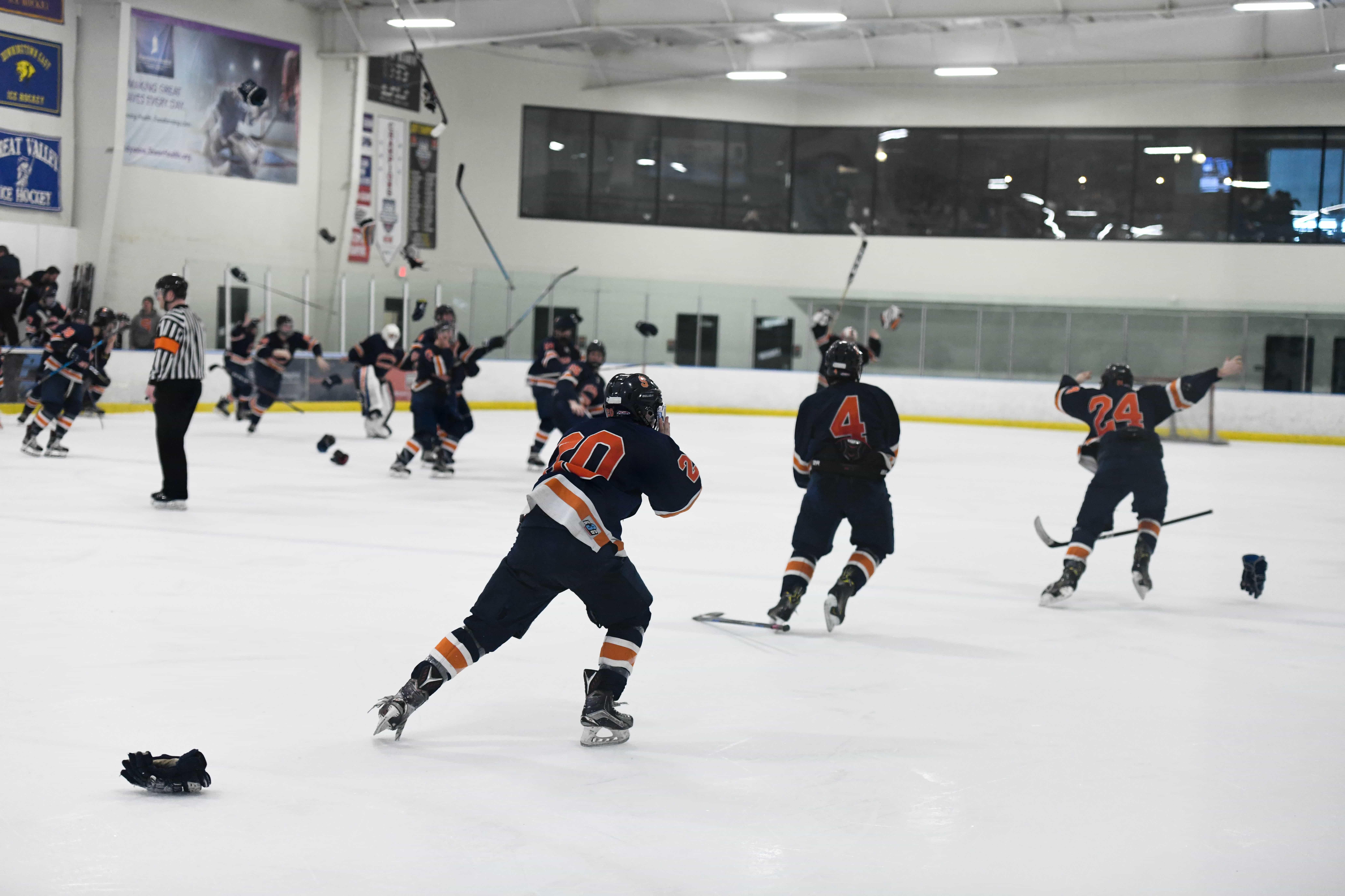 Syracuse Men's Hockey ESCHL conference Championship