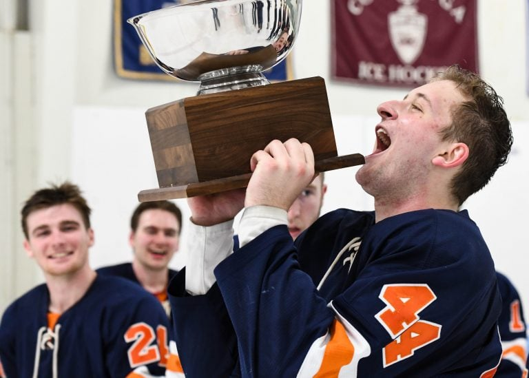 Syracuse Men's Hockey ESCHL conference Championship