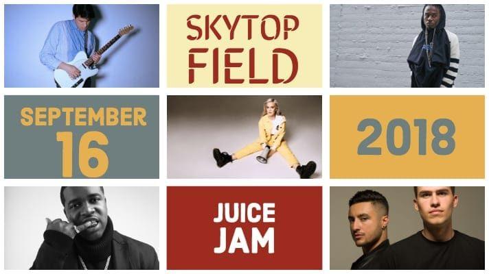 Juice Jam 2018 Announcement
