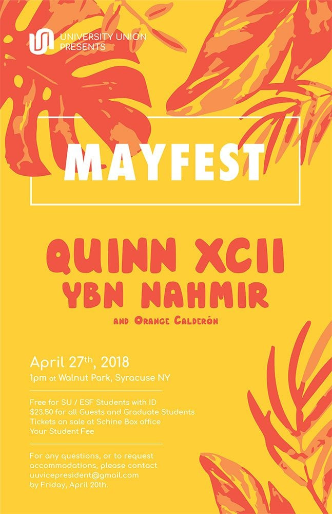 mayfest bigger text